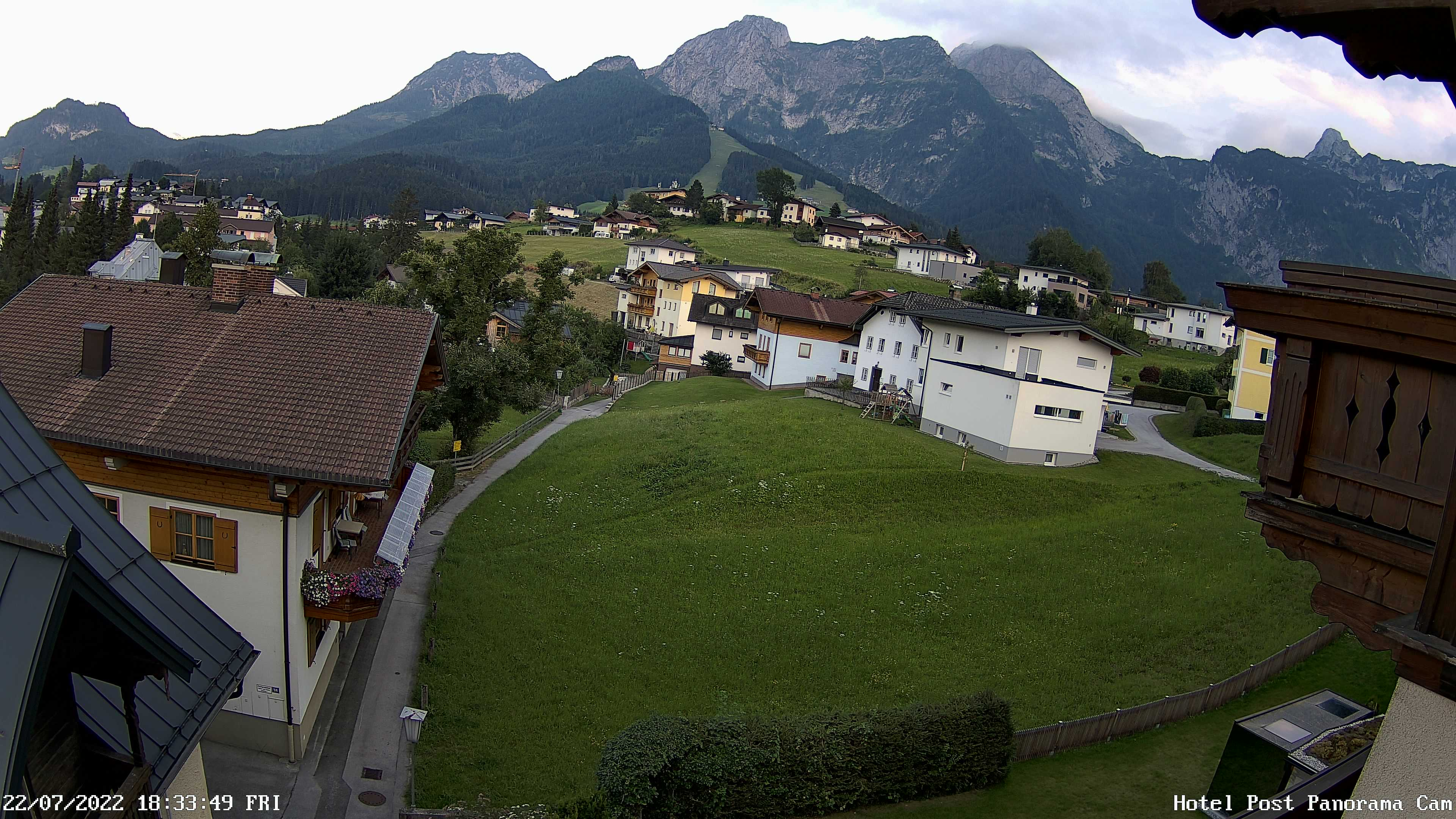 Webcam view of the Karkogel - Hotel Post